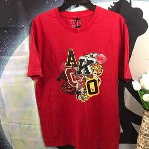 Akoo men's red t-shirt size XL